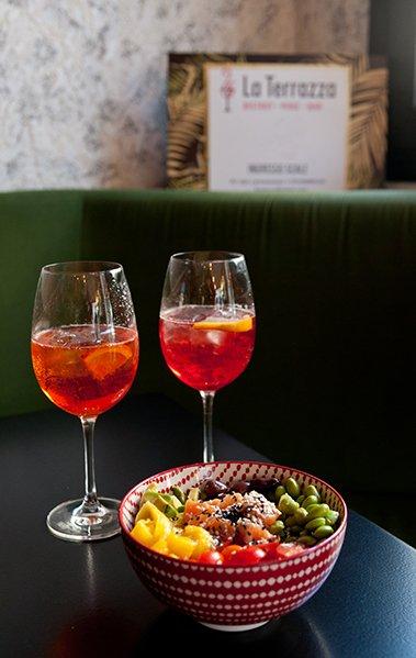 aperitivo spritz e bowl